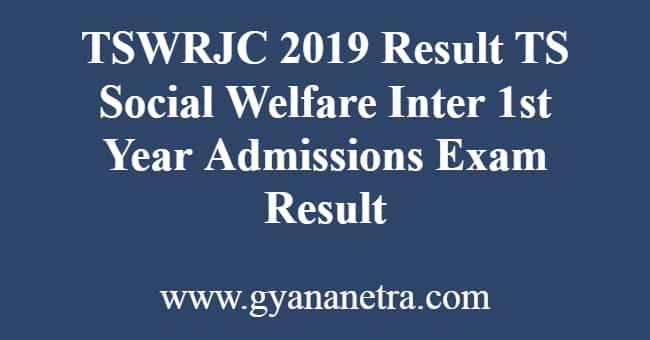 TSWRJC 2019 Result