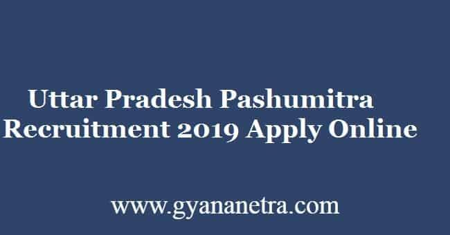 Uttar Pradesh Pashumitra Recruitment 2019