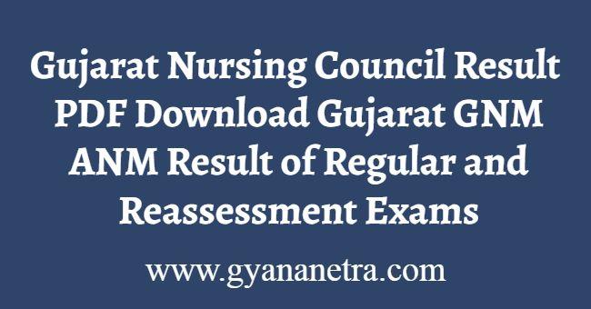 Gujarat GNM Result Download