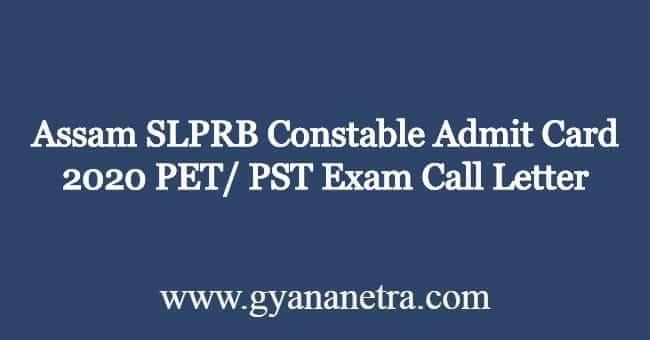 Assam-SLPRB-Constable-Admit-Card