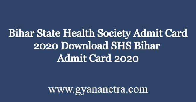 Bihar-State-Health-Society-Admit-Card