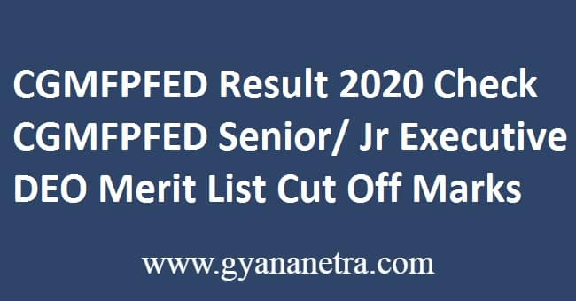 CGMFPFED Result