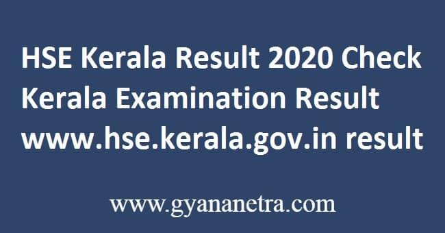 HSE Kerala Result