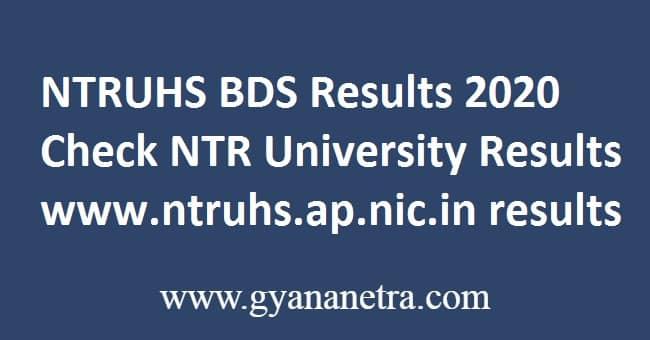 NTRUHS BDS Results