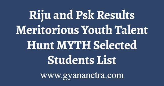Riju and Psk Results
