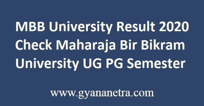 MBB University Result
