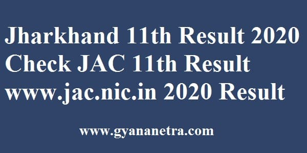 Jharkhand 11th Result