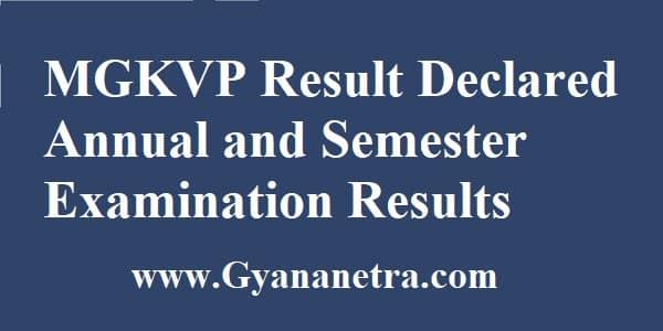 MGKVP Result Check Online