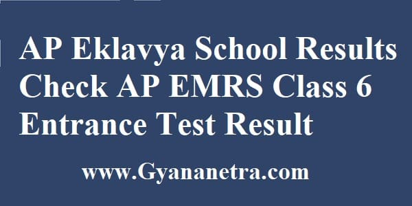 AP Eklavya School Results