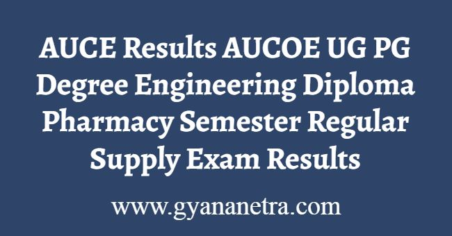 AUCE Results