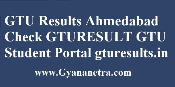 GTU Results Ahmedabad