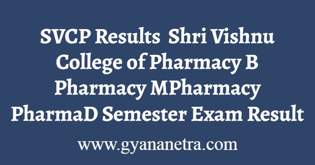 SVCP Results