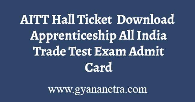 AITT Hall Ticket
