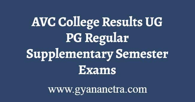 AVC College Results