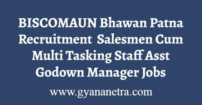 BISCOMAUN Bhawan Patna Recruitment
