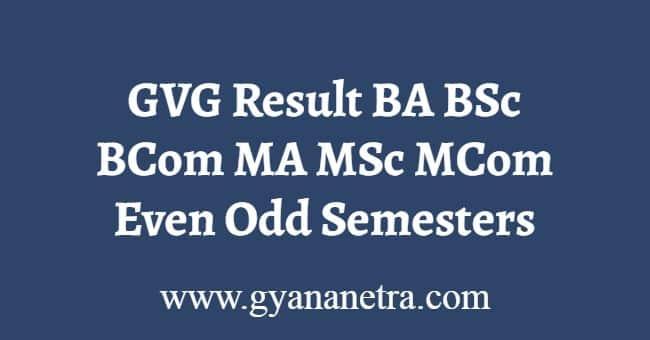GVG Result