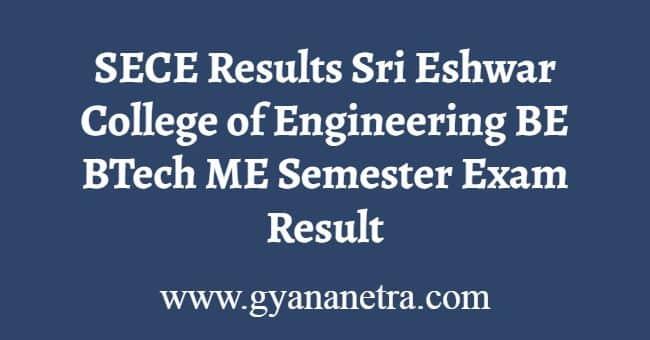 SECE Results