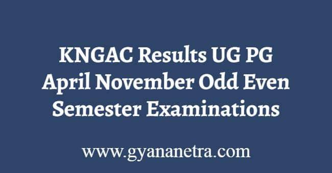KNGAC Results
