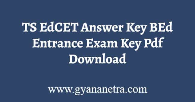 TS EdCET Answer Key