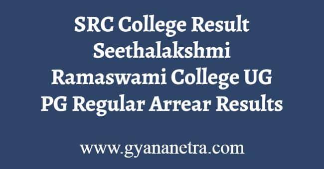SRC College Result