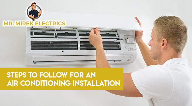 Steps to Follow for an Air Conditioning Installation