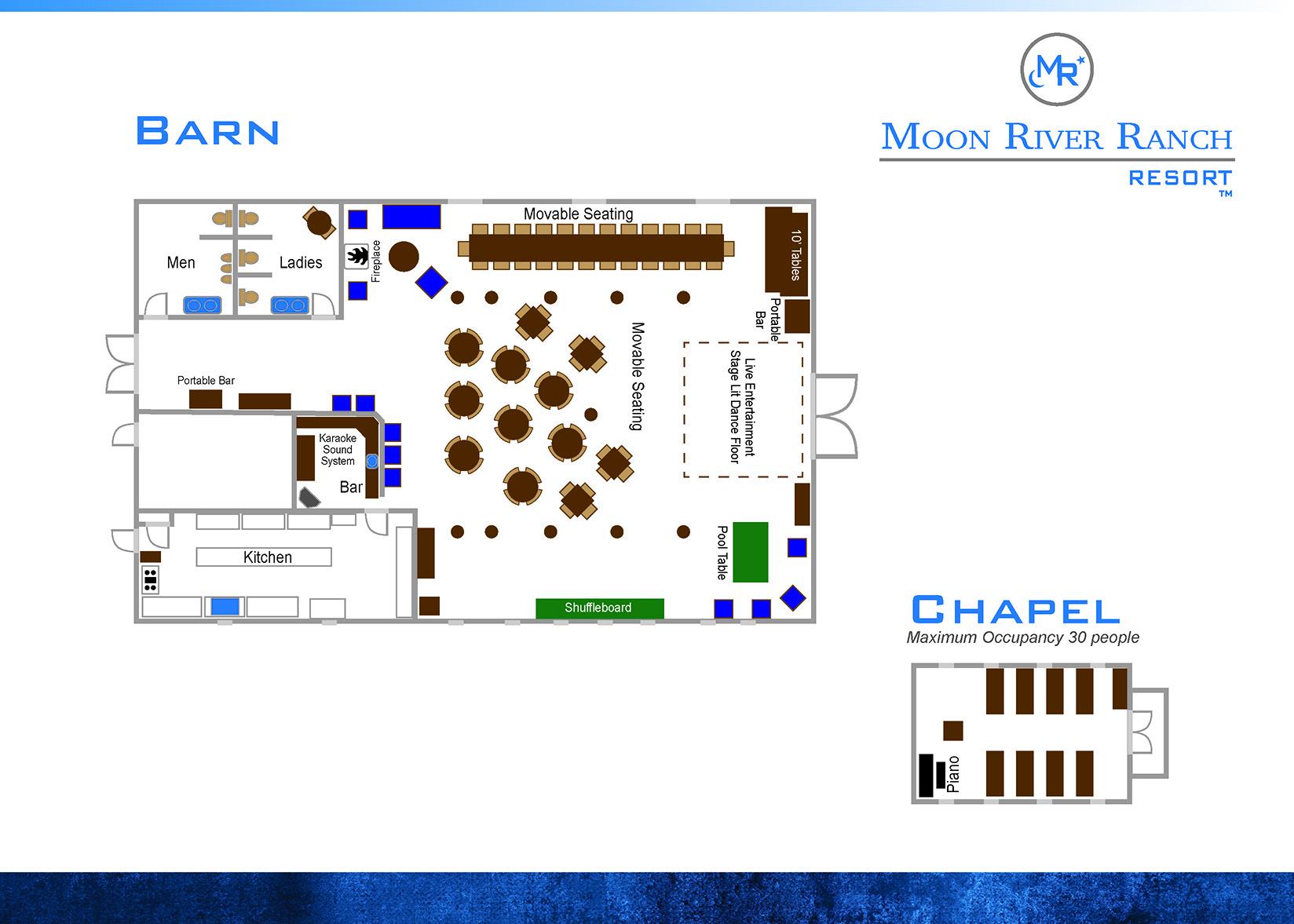 barn house and chapel floor plans