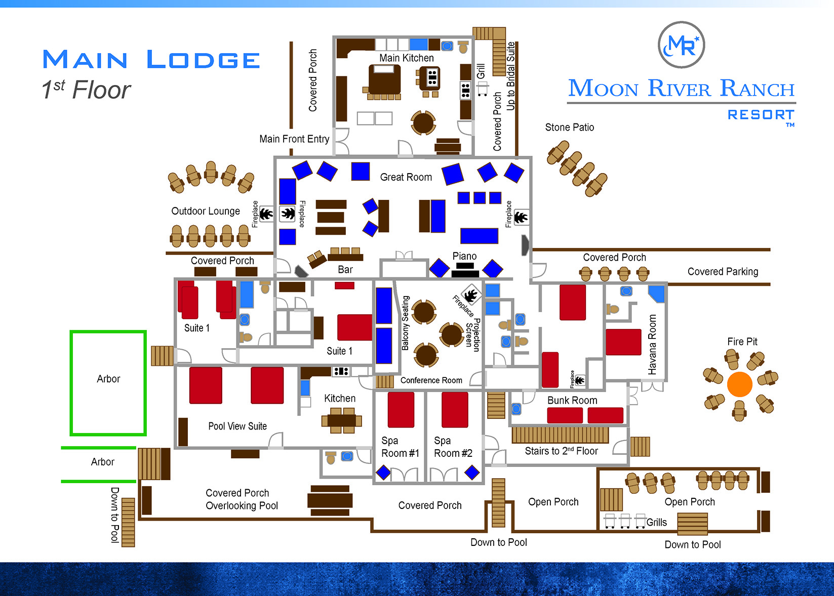 main lodge first floor plans