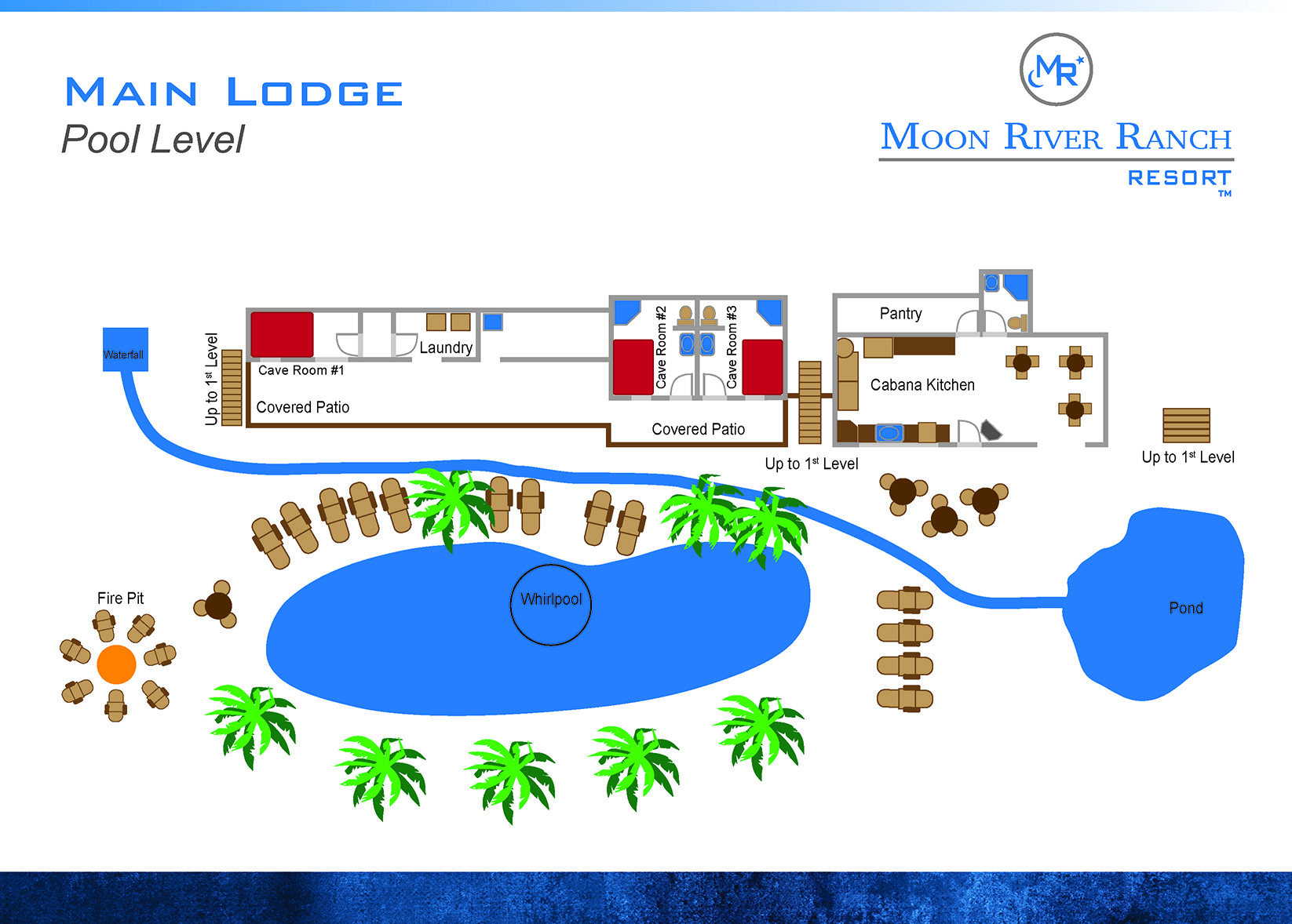 main lodge pool level plan