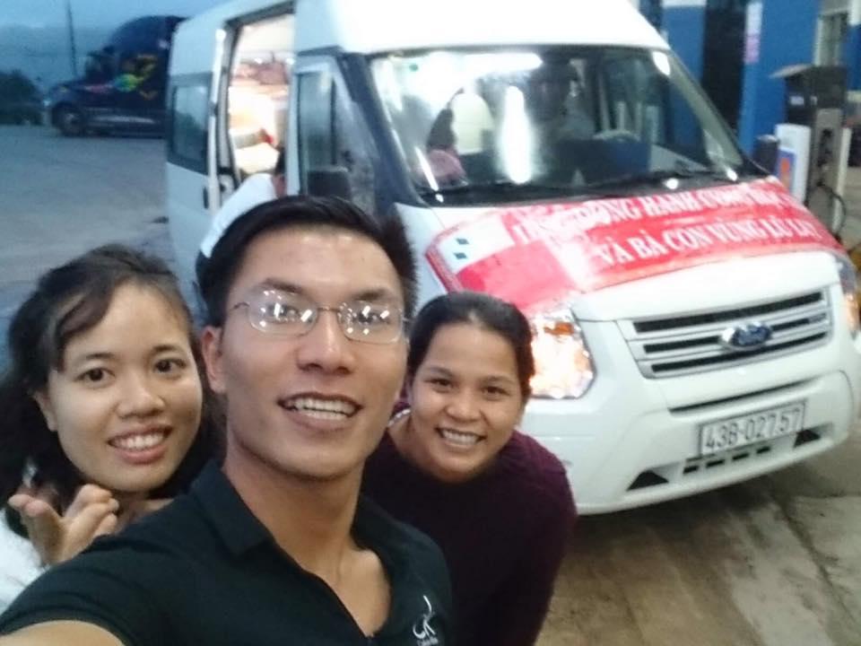 IBSG cứu trợ đợt lũ Quảng Bình 2016