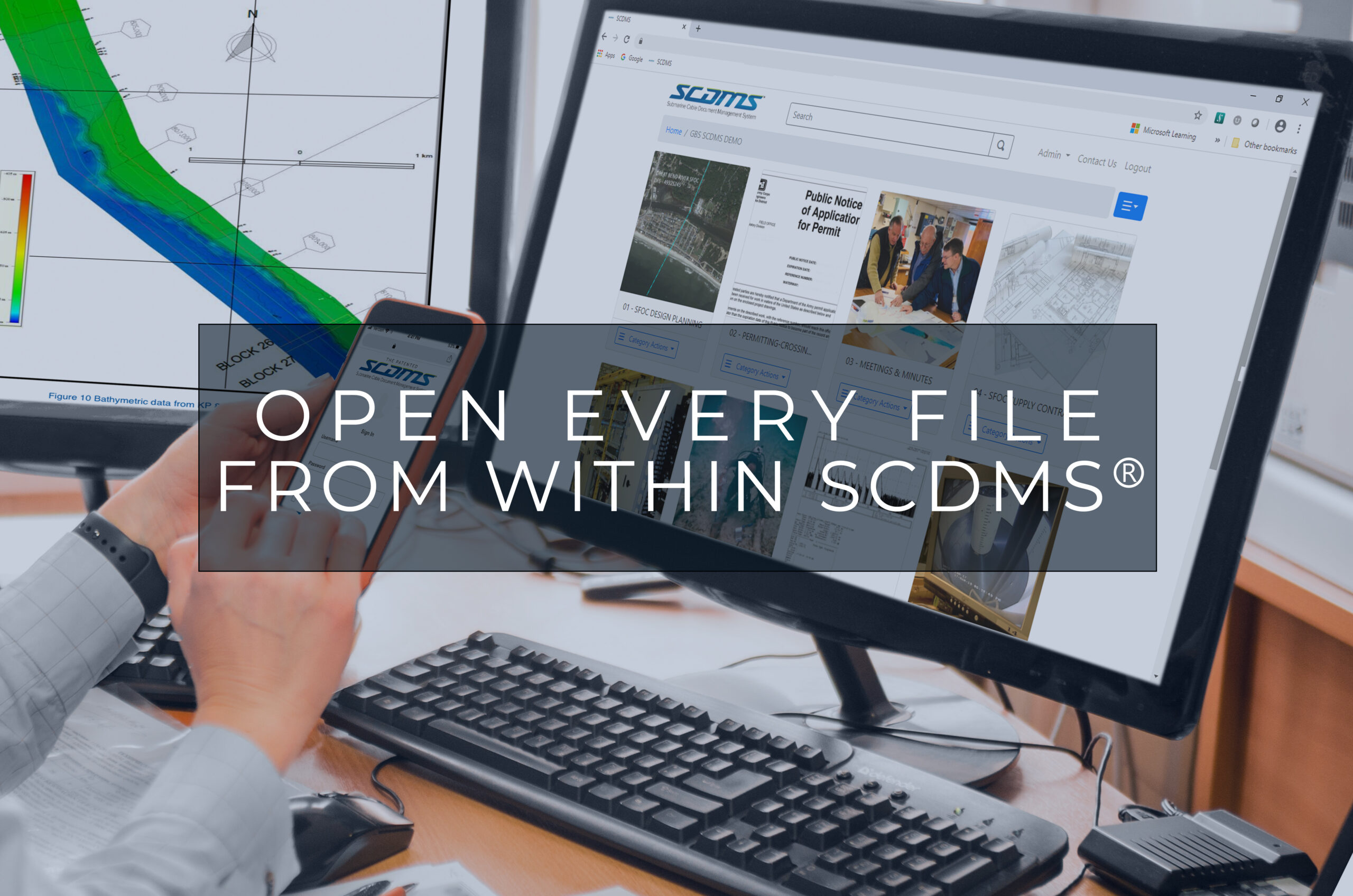 Open every file from within SCDMS