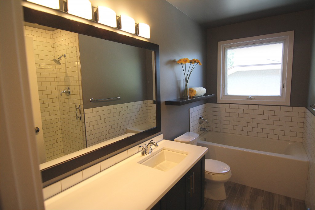 Saskatoon Spa bathroom renovation completed by Krawchuk Construction Inc.