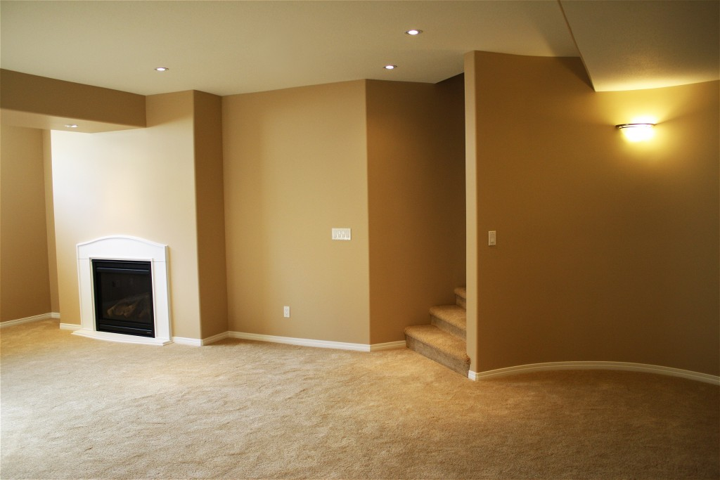 Another cozy Saskatoon renovated space brought to you by Krawchuk Construction Inc.