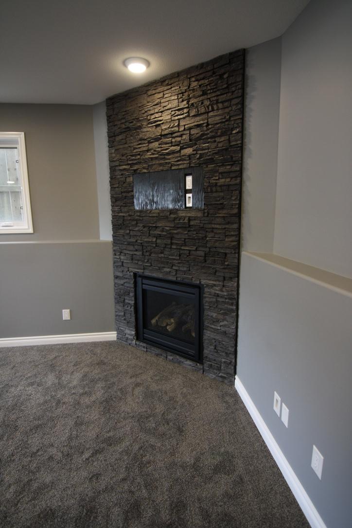 This warm Saskatoon basement development brought to you by Krawchuk Construction Inc.