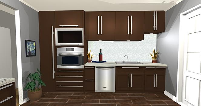 Krawchuk Construction Inc – 3D Kitchen
