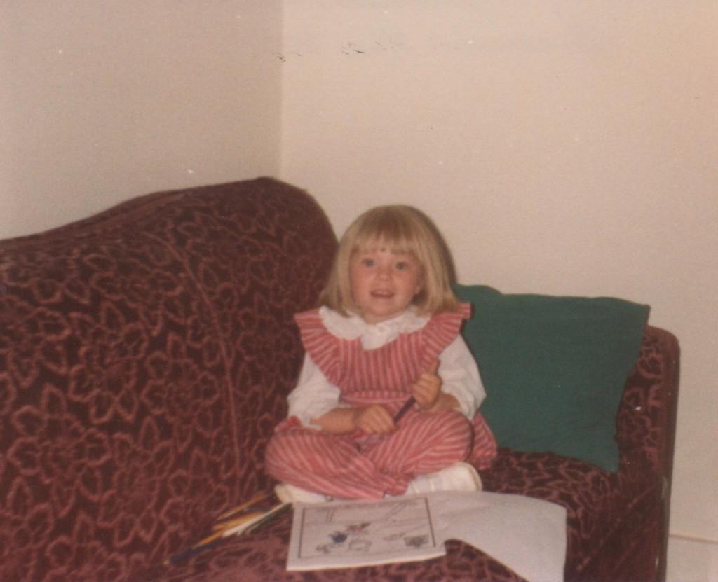 Mandy as a kid