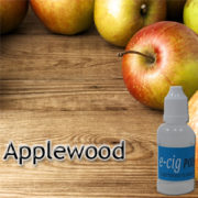 Applewood e-liquid e-juice for electronic cigarettes