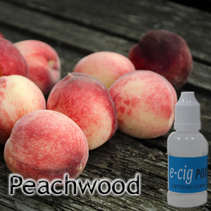Peachwood for electronic Cigarettes and e-liquid, e liquids, e-juice, e juices