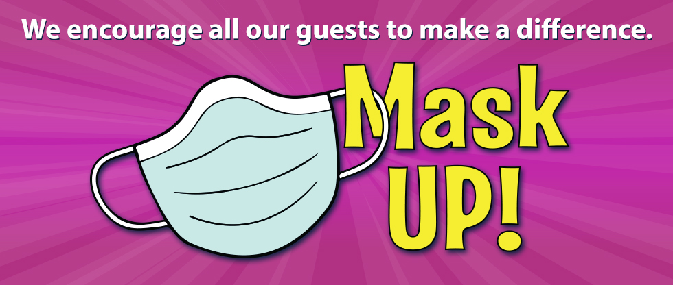 Cash Magic encourages everyone to Mask UP!