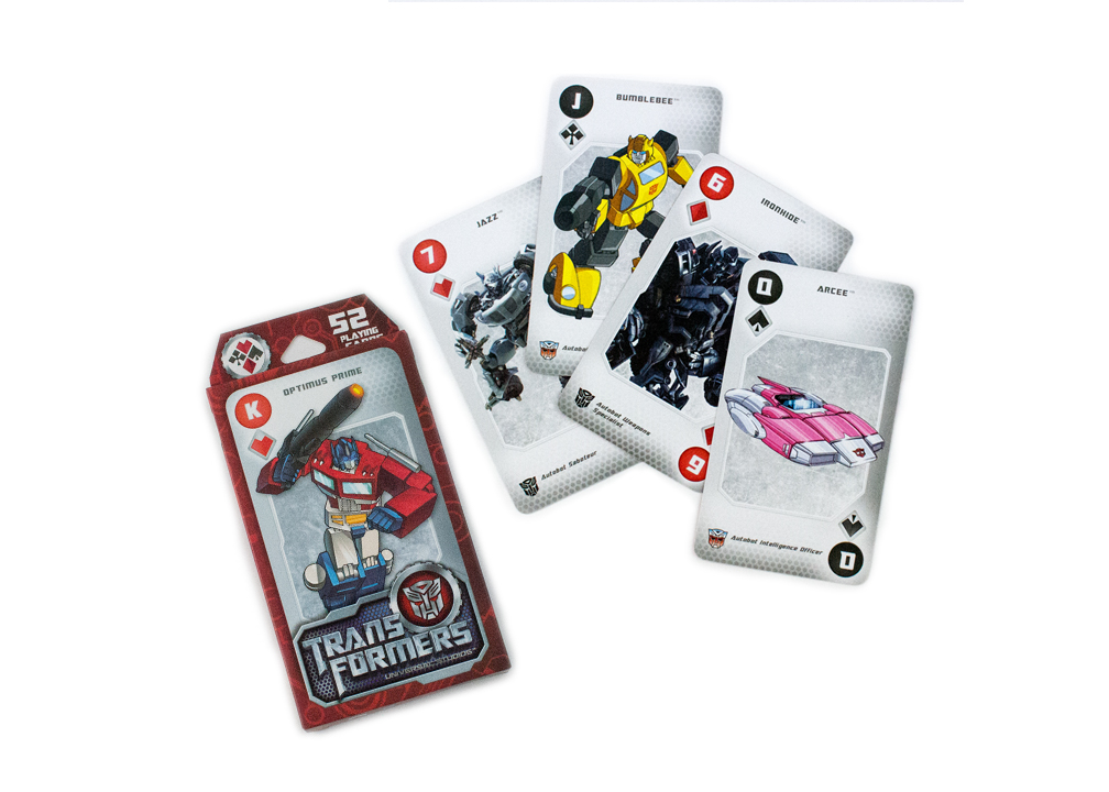 Transformers Bumblebee Movie Playing Cards Deck Brand New