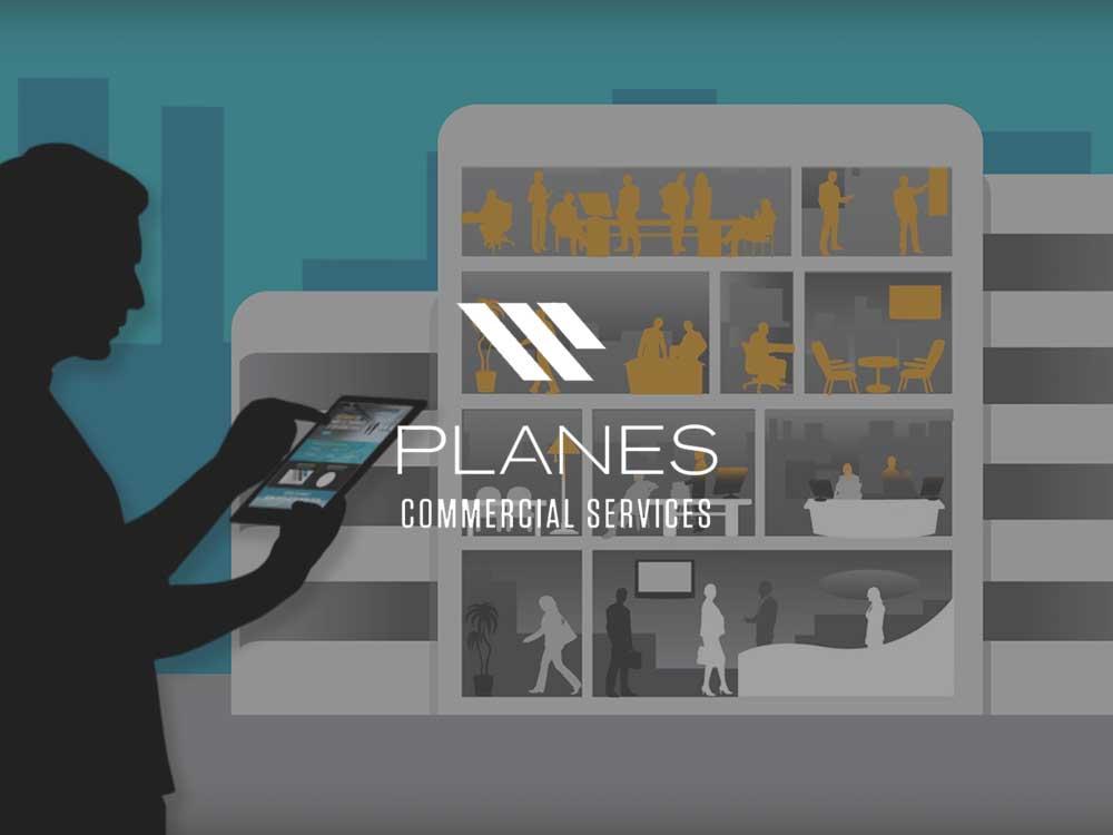 motion graphics animation for global logistics company