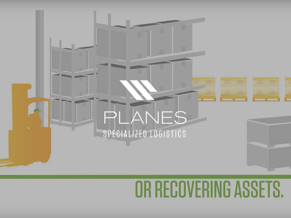 motion graphics overview of commercial moving company