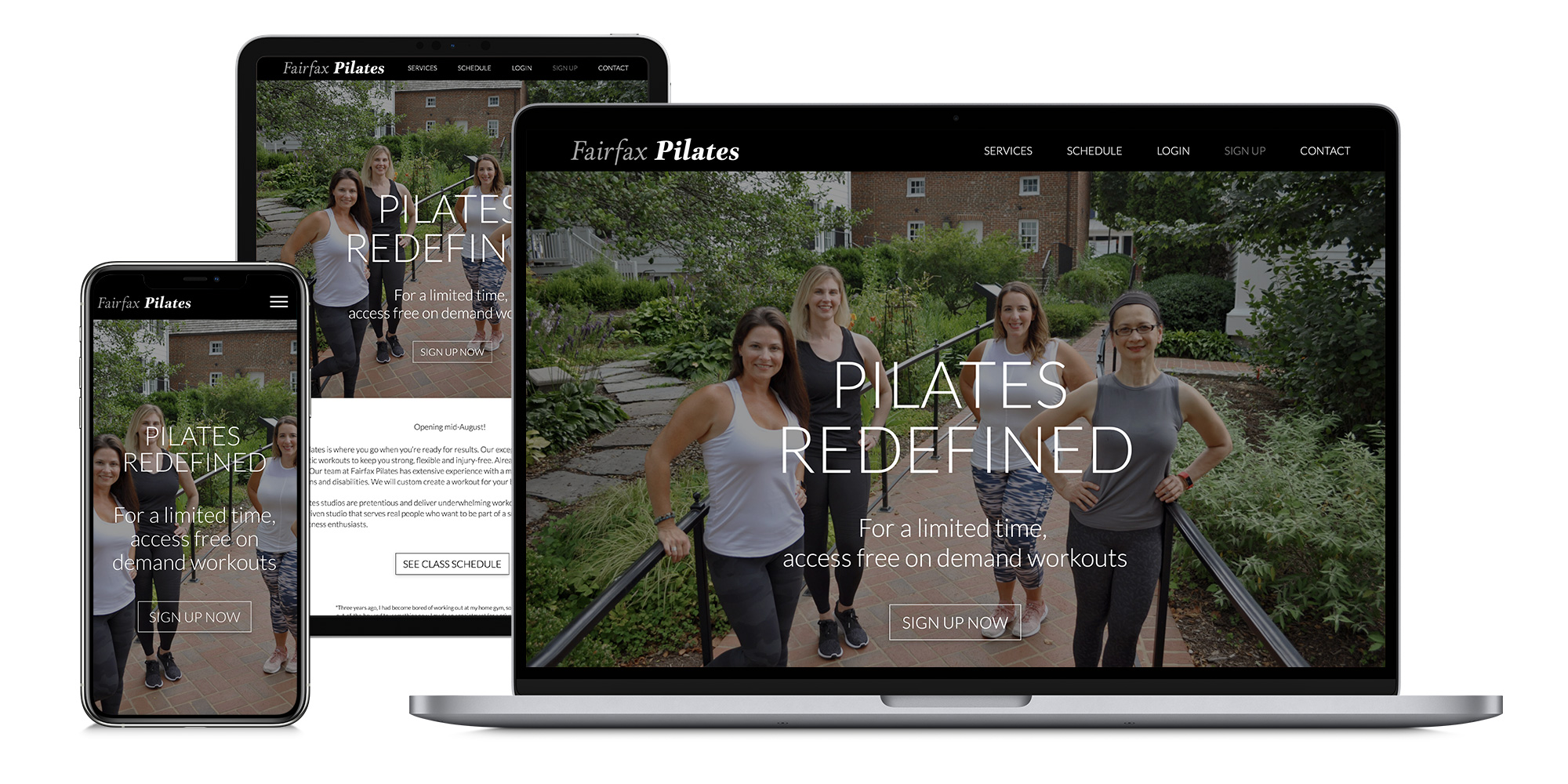 webstie for pilates