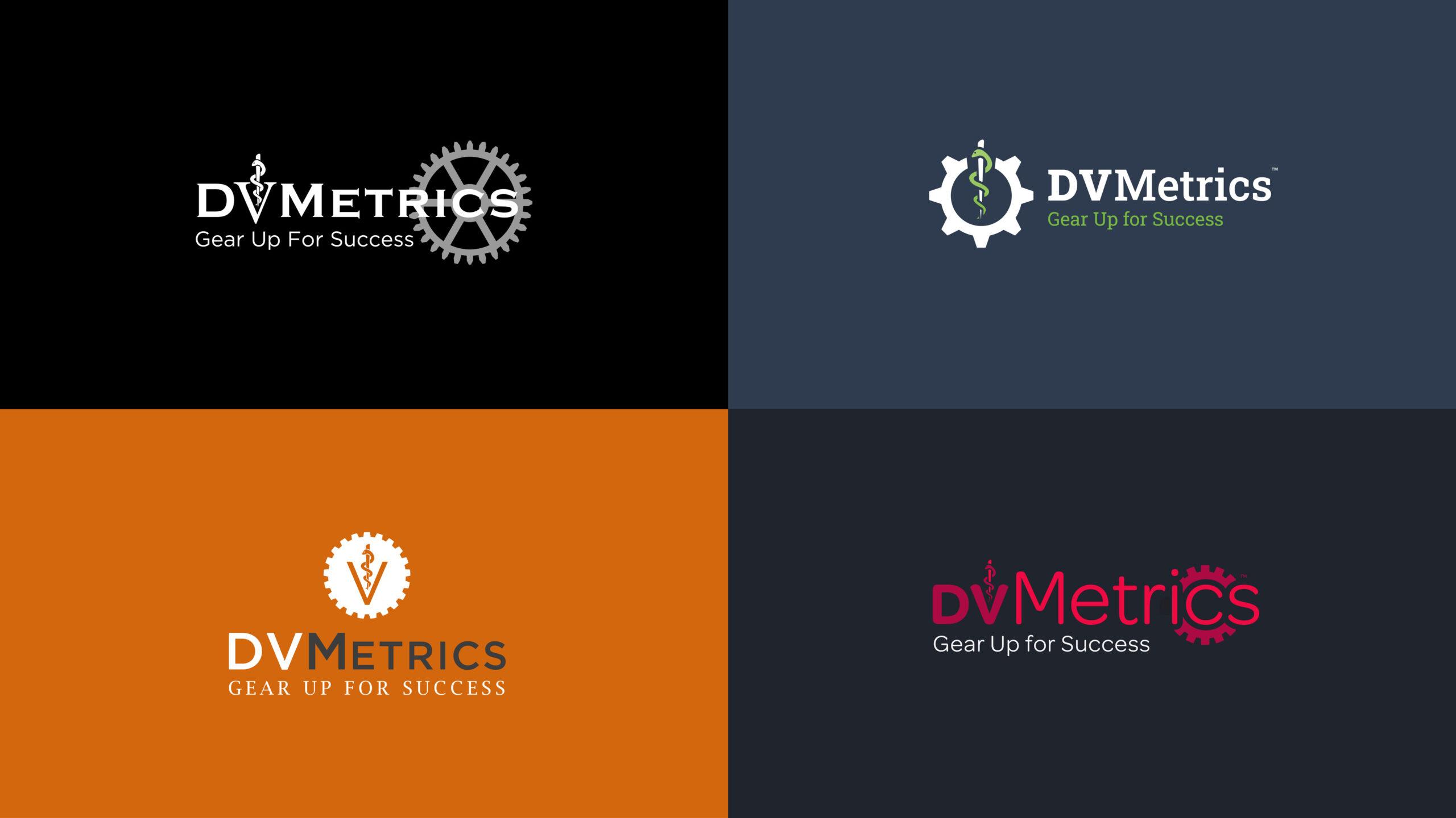 DVMetrics Logo Concepts