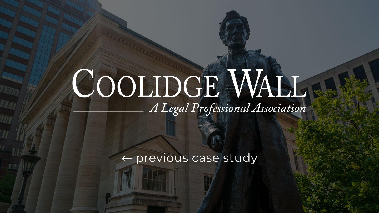 Coolidge Left Button