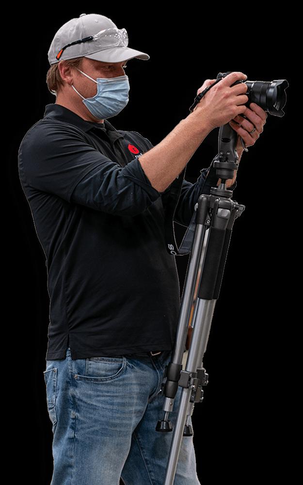 Zack Ruef with Camera