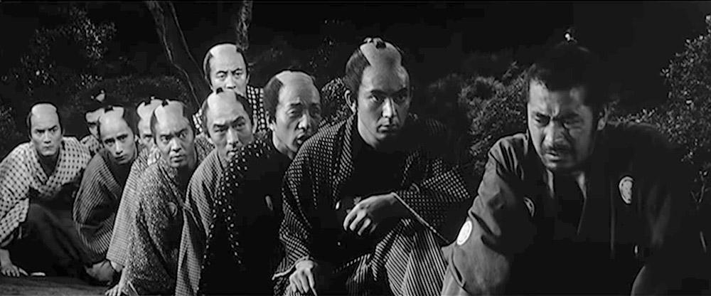 sanjuro - toshiro mifune - top 10 best samurai movies