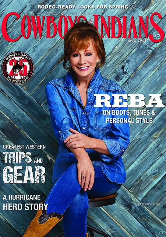 Cowboys & Indians Magazine - April 2018