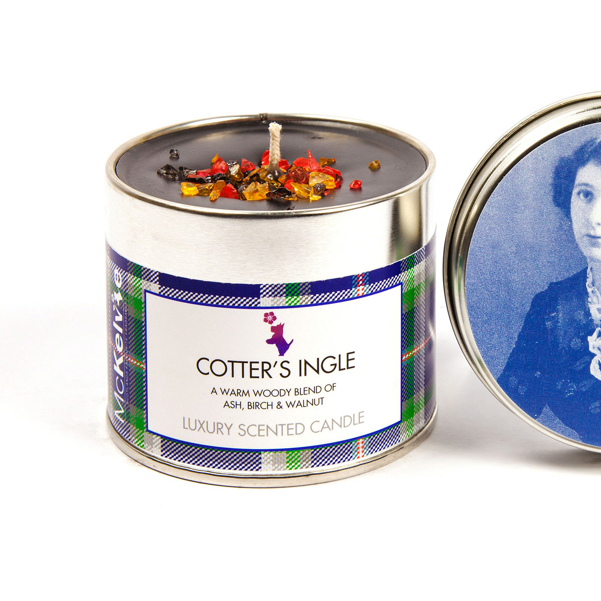 Cotter's Ingle Scented Candle Tin