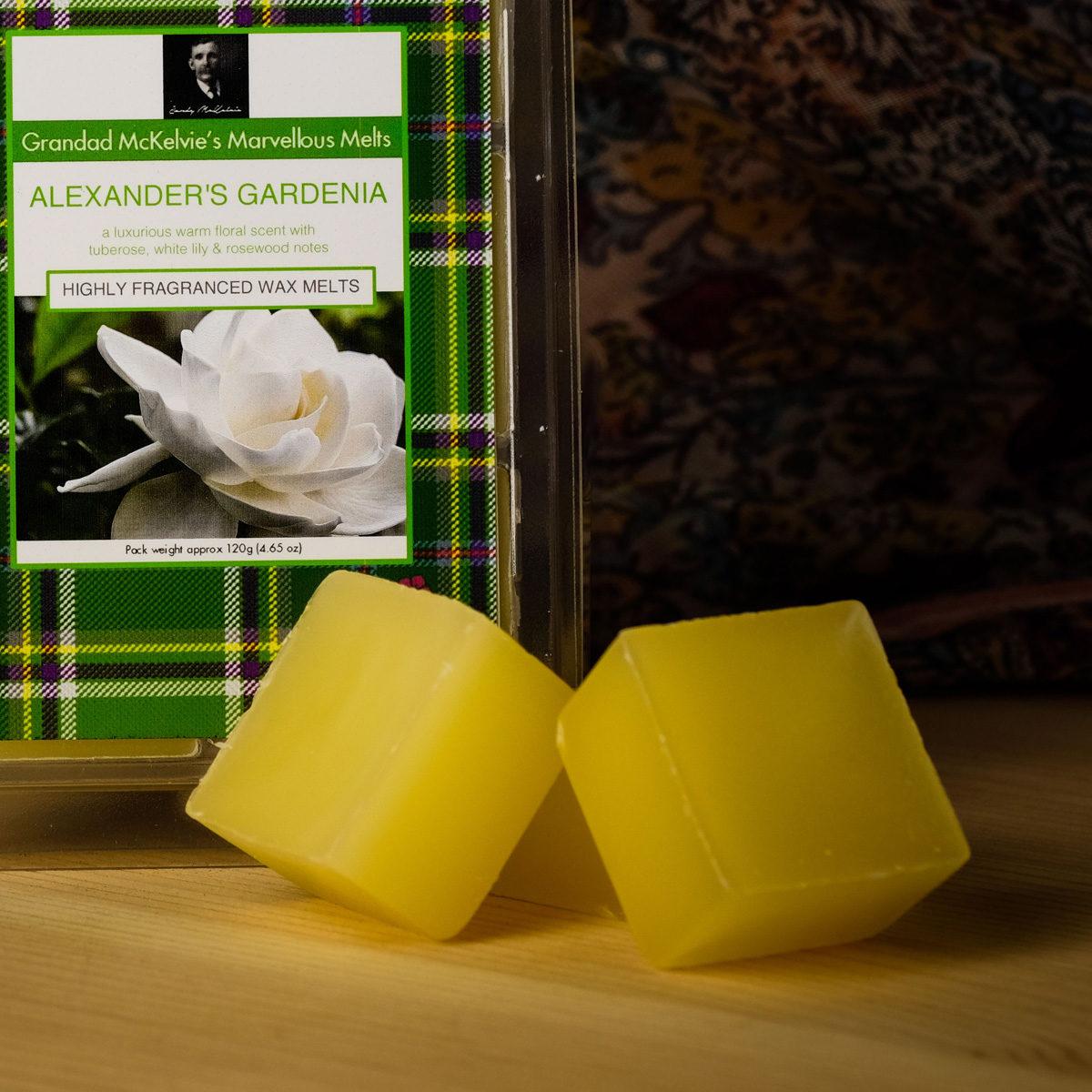 Alexander's Gardenia Wax Melts