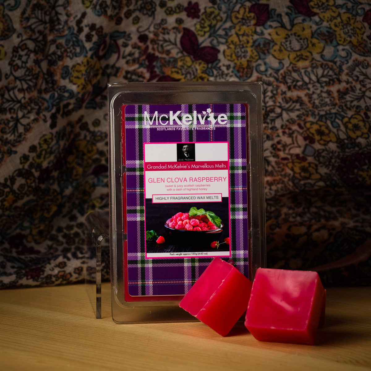 Glen Clova Raspberry Wax Melts